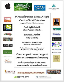 Event info and our many generous donors