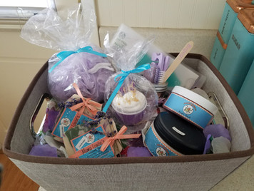 Spa basket by mama louise