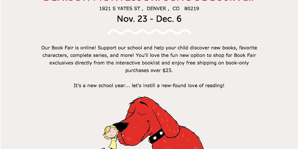 SCHOLASTIC VIRTUAL BOOK FAIR | November 23 - December 6