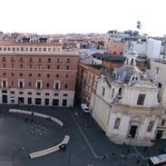 Vista da Palazzo Marignoli