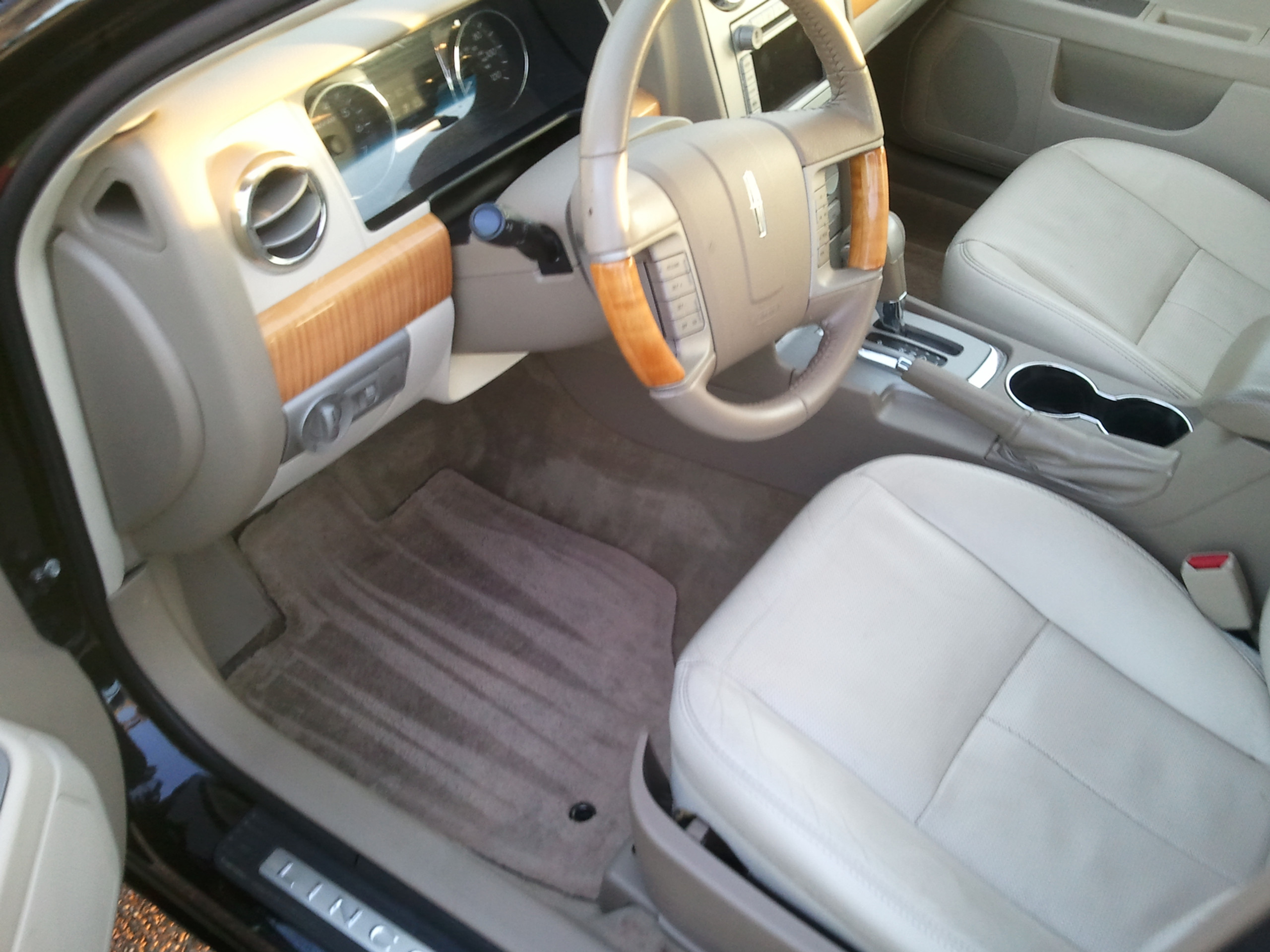 Interior Detail - Sedan