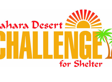 Sahara Desert Challenge for Shelter