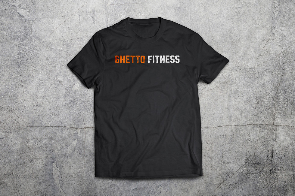 GhettoFitness Tshirt Front