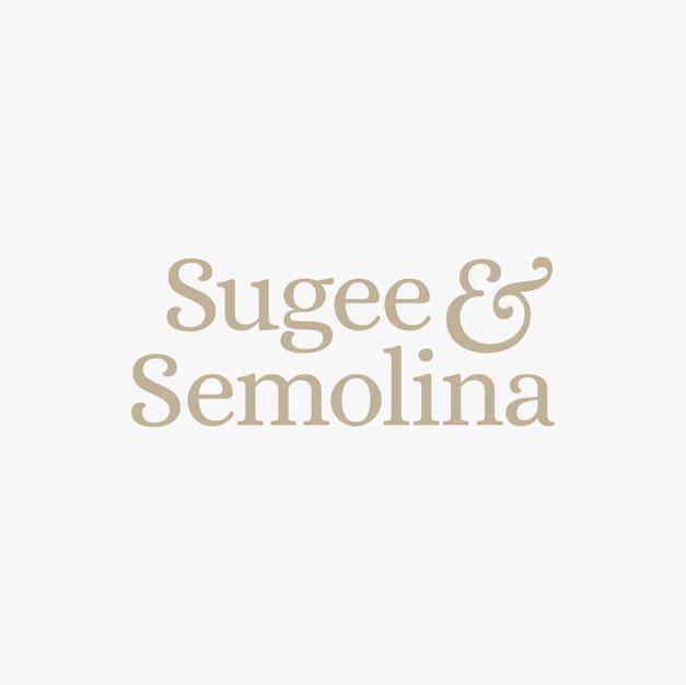 Sugee And Semolina Logo