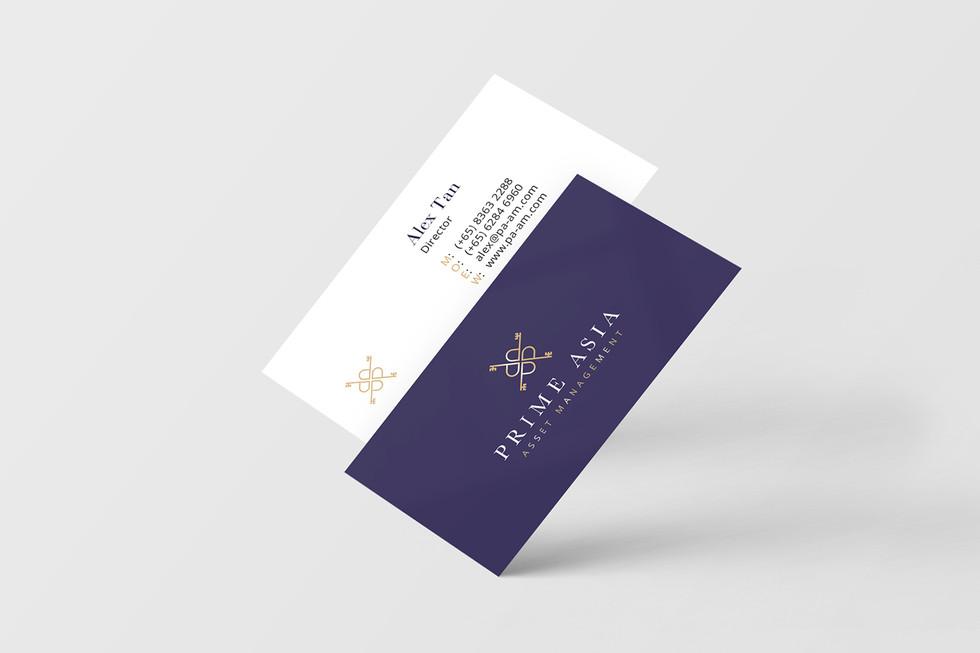 Prime Asia Business Card Mockup