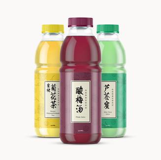 Herbal Tea Bottles