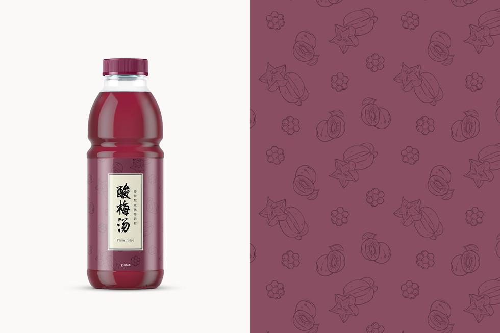 Herbal Tea Bottles PJ