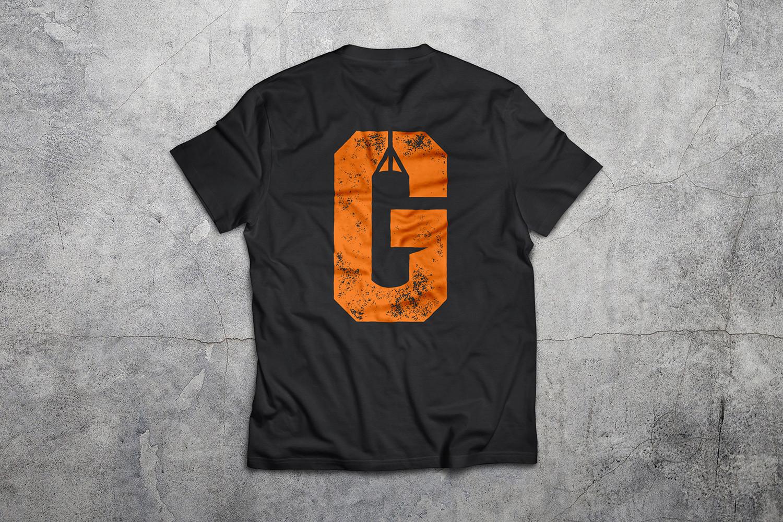 GhettoFitness Tshirt Back