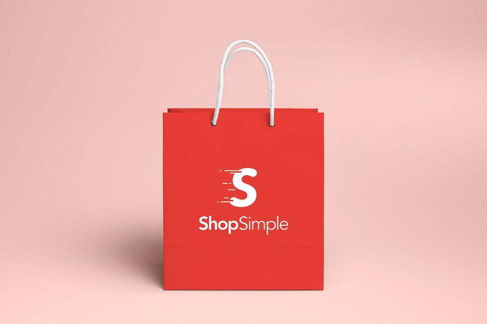 Shop Simple Shopping Bag