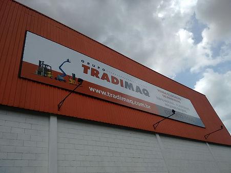 fachadas, sinalização, adesivos, painéis em acm, envelopamento, letras caixa