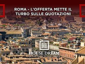 Roma - L'offerta mette il turbo sulle quotazioni