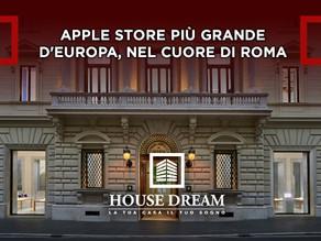 Apple Store più grande d'Europa, nel cuore di Roma