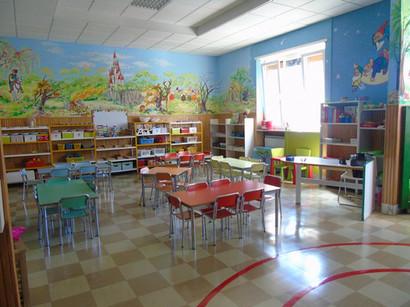 Aula scuola dell'infanzia
