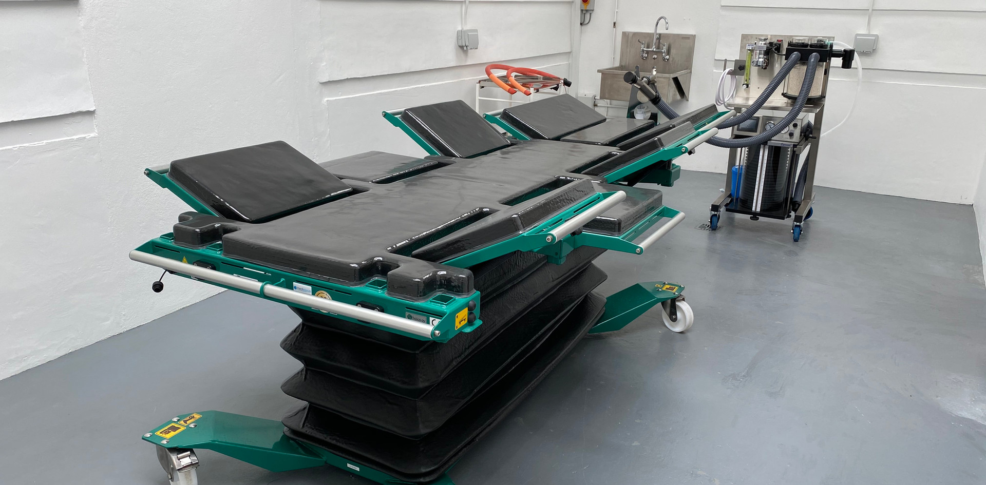 Equine operating theatre