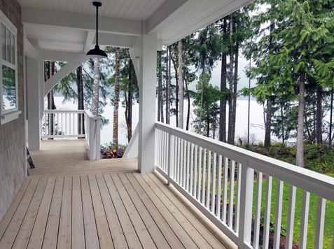 lake house veranda
