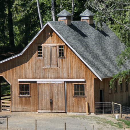 Completed Barn Construction
