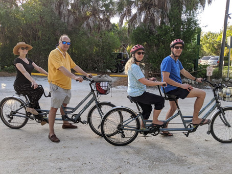 Tandem Biking and Buying a Home