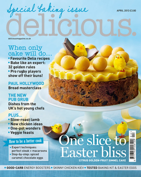 Delicious. magazine Art Directed by Naomi Lowe