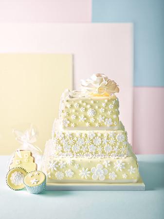 Waitrose & Partners Wedding Cakes Art Directed by Naomi Lowe