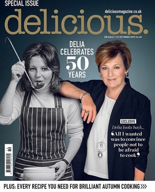 Delicious Magazine Art Directed by Naomi Lowe