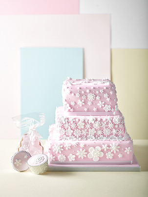 Waitrose & Partners Wedding Cakes Art Directed by Naomi Lowe