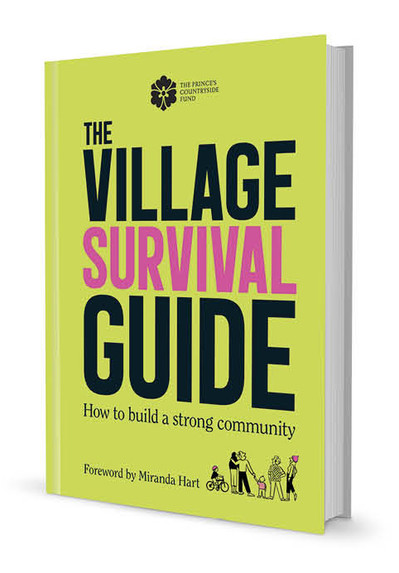 The Village Survival Guide for The Prince's Countryside Fund, Art Directed by Naomi Lowe