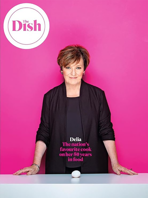 Delia Smith by Naomi Lowe Art Director