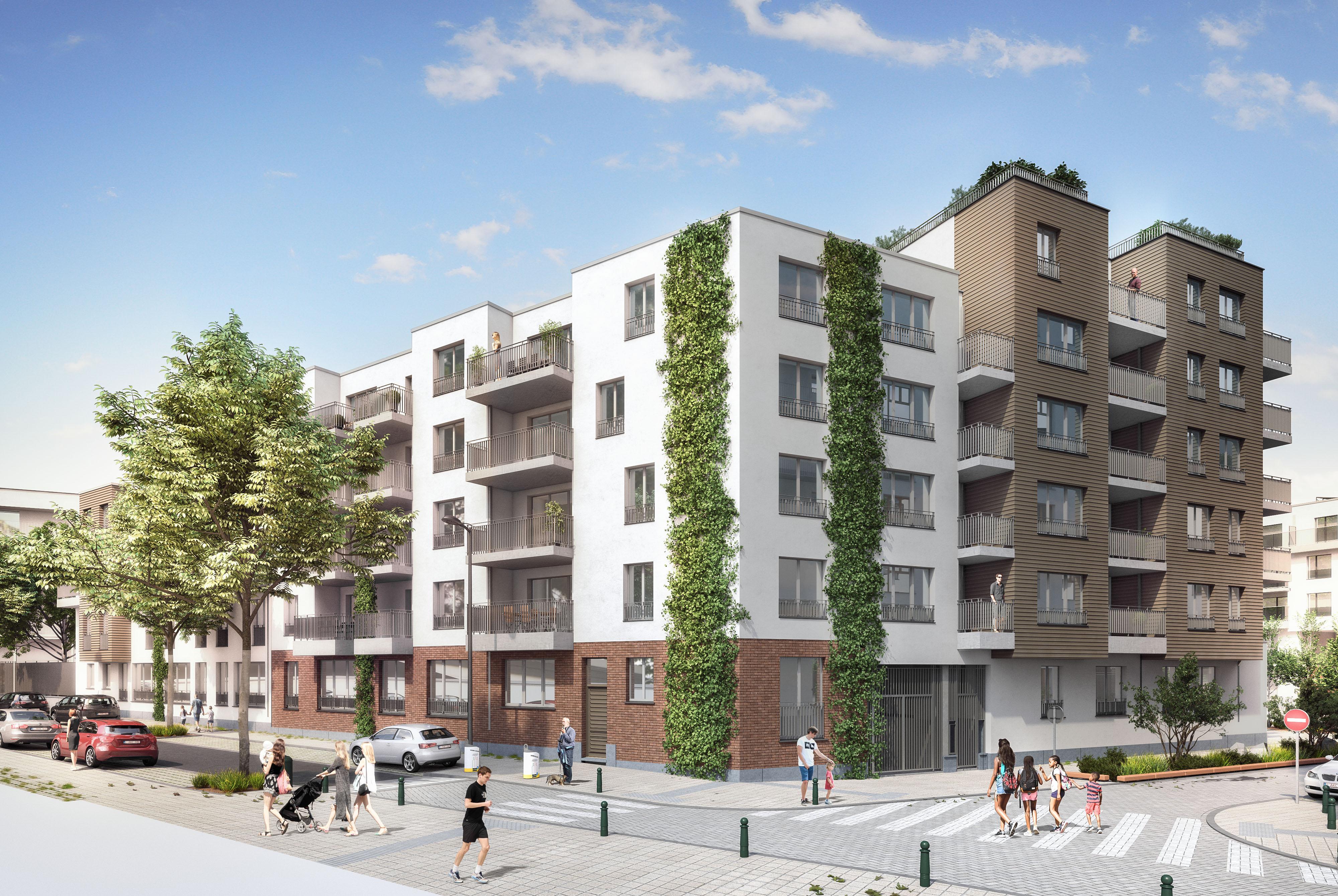 Molenbeek Quartier Tivoli Vue 3 160926