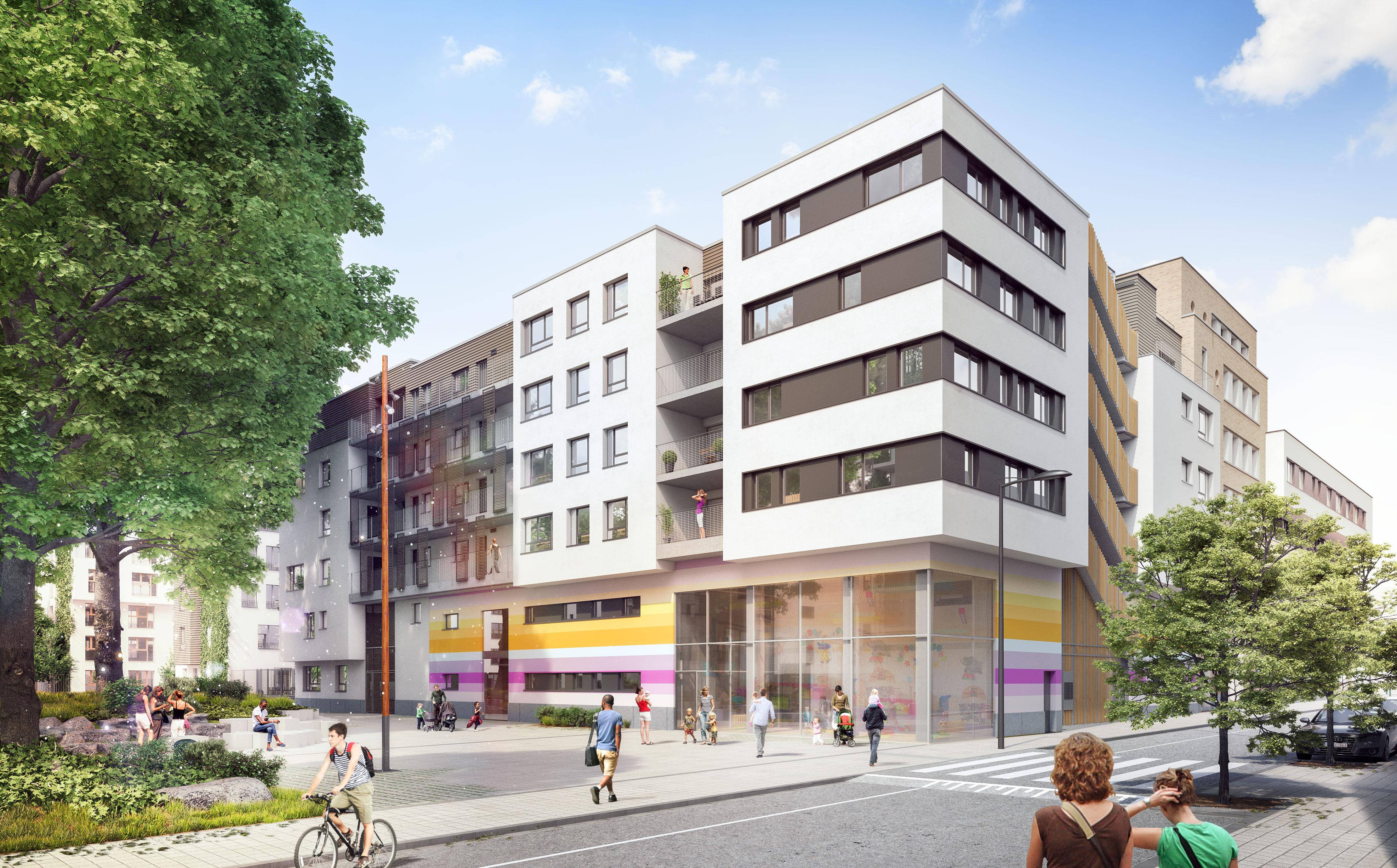 Molenbeek Quartier Tivoli Vue 1 160926