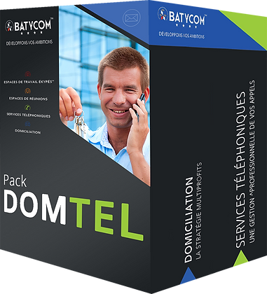 AIX-EN-PROVENCE DOMICILIATION with weekly redirection + TELEPHONY│DOMTEL