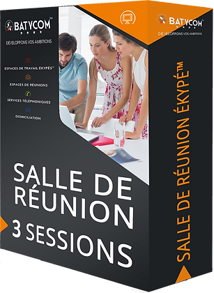 Meeting room | Pack of 3 sessions