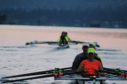 sculling masters in the morning