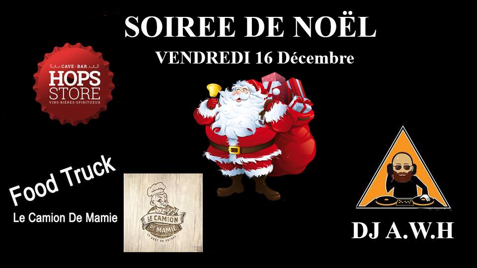 Soirée de Noël Hops Store