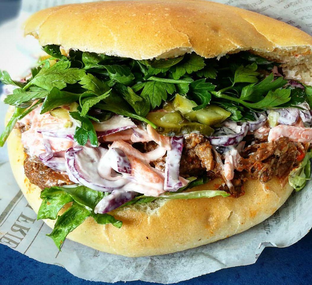 Sandwich beef