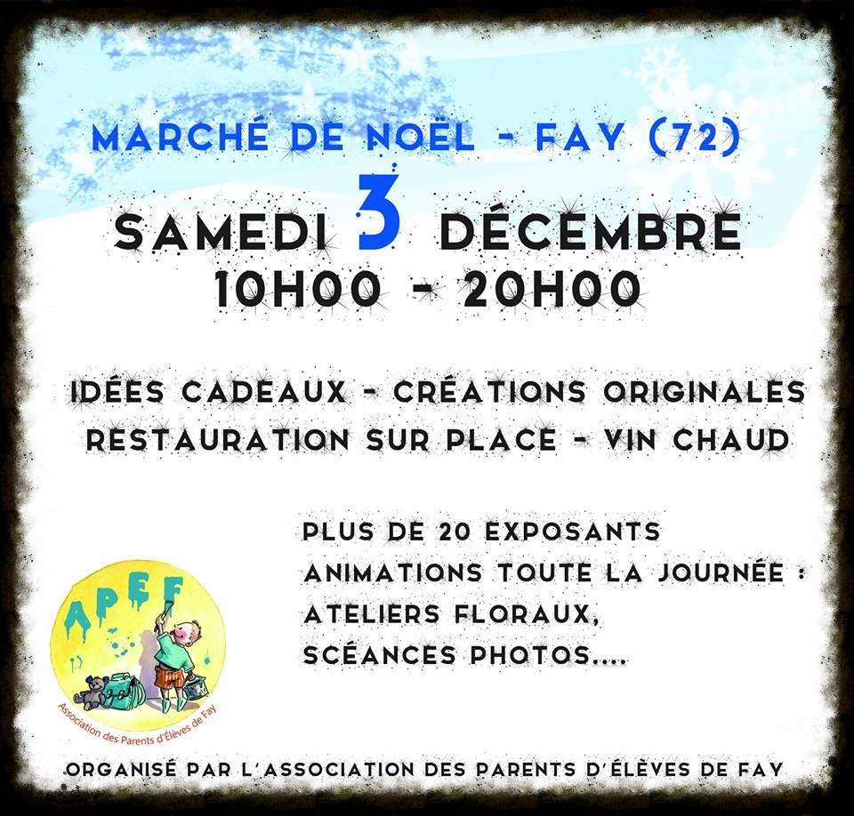Marché de Noël de Fay (72)