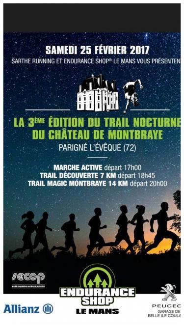 3ème édition du trail de Monbraye