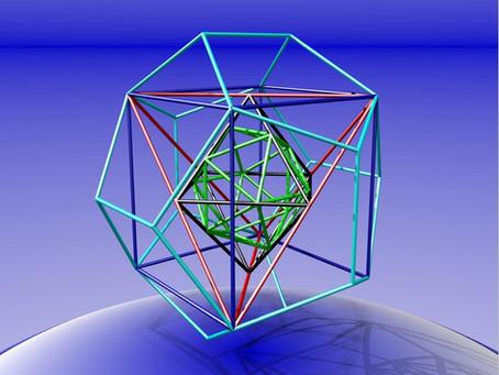 Platonic Solids Transmit Consciousness