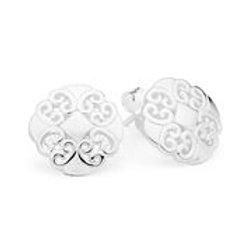 Pastiche E1549 Shanghai Stud Earrings Silver