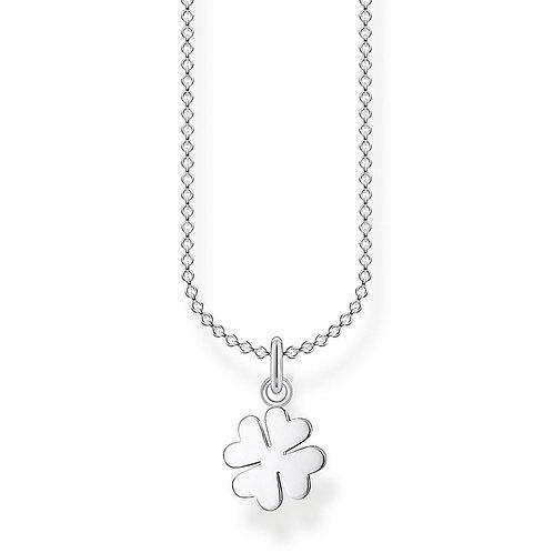 Thomas Sabo KE2037-001-21-L45V Sterling Silver Necklace Cloverleaf