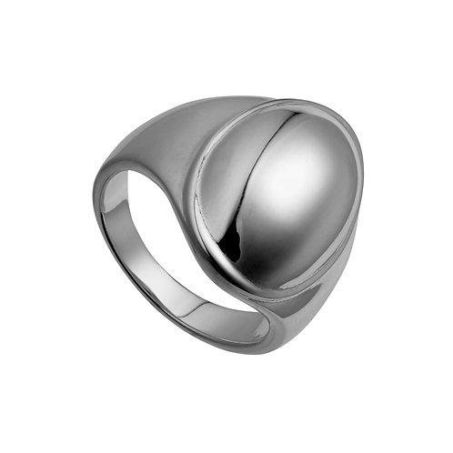 Najo R5165S El Mar Following On Ring Silver