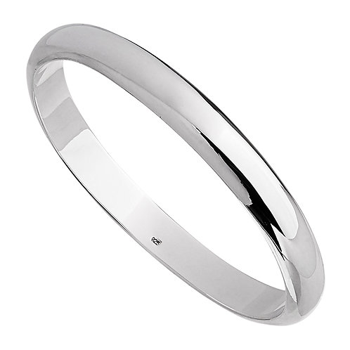 Najo B6007 Fairway Bangle Silver