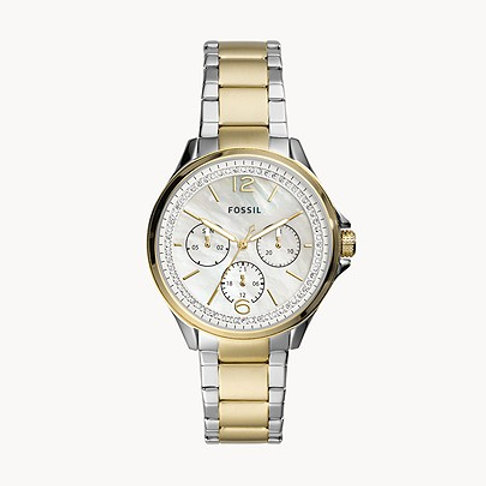 Fossil ES4781 Sadie Two-Tone Stainless Steel Watch