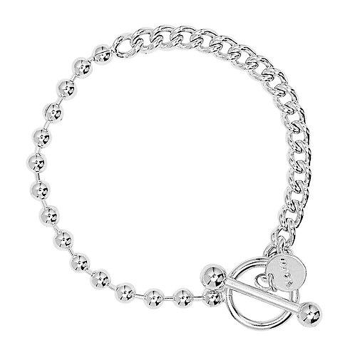Najo B6227 Fossick Bracelet Silver