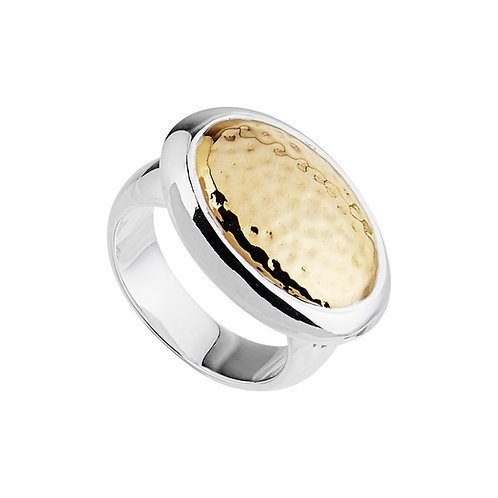 Najo R5738M Golden Beauty Ring Silver/Yellow