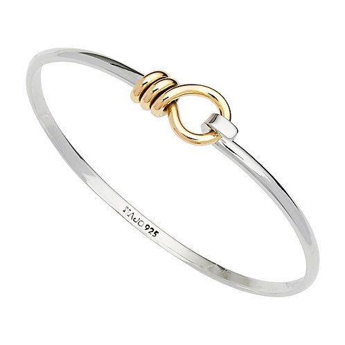 Najo B6347 Highfield Bangle Silver/Yellow