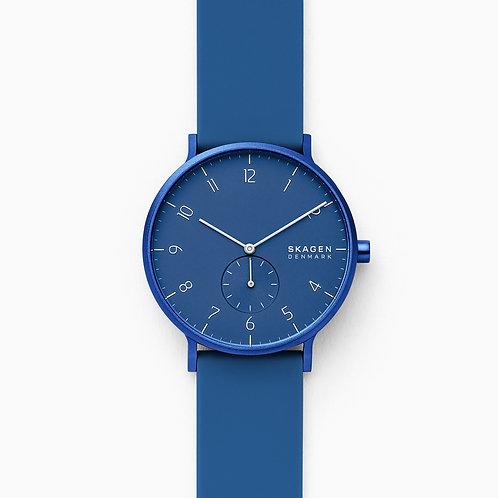 Skagen SKW6508 Aaren Kulor Blue Silicone 41mm Watch