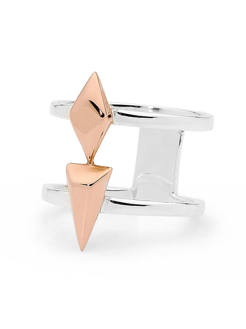 Pastiche R1021RG Ring Silver/Rose