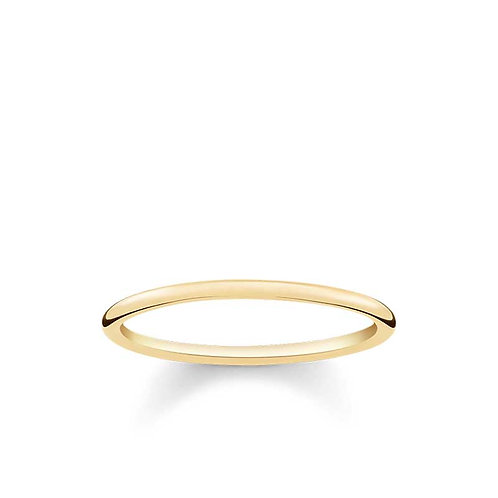 Thomas Sabo TR2123-413-12-54 Yellow Tone Classic Ring