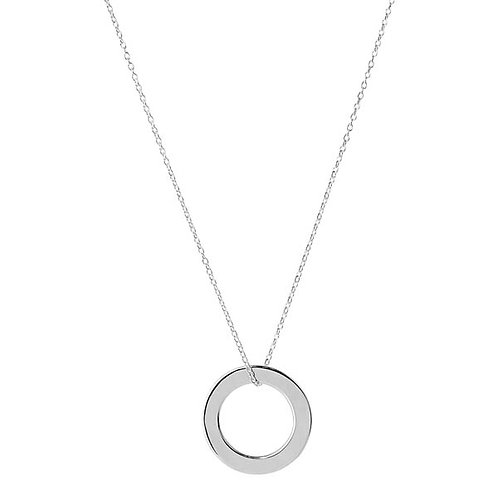 Najo N5802 Eternity Necklace Silver