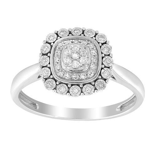 IGR-37114 - 9ct White Gold Diamond Ring